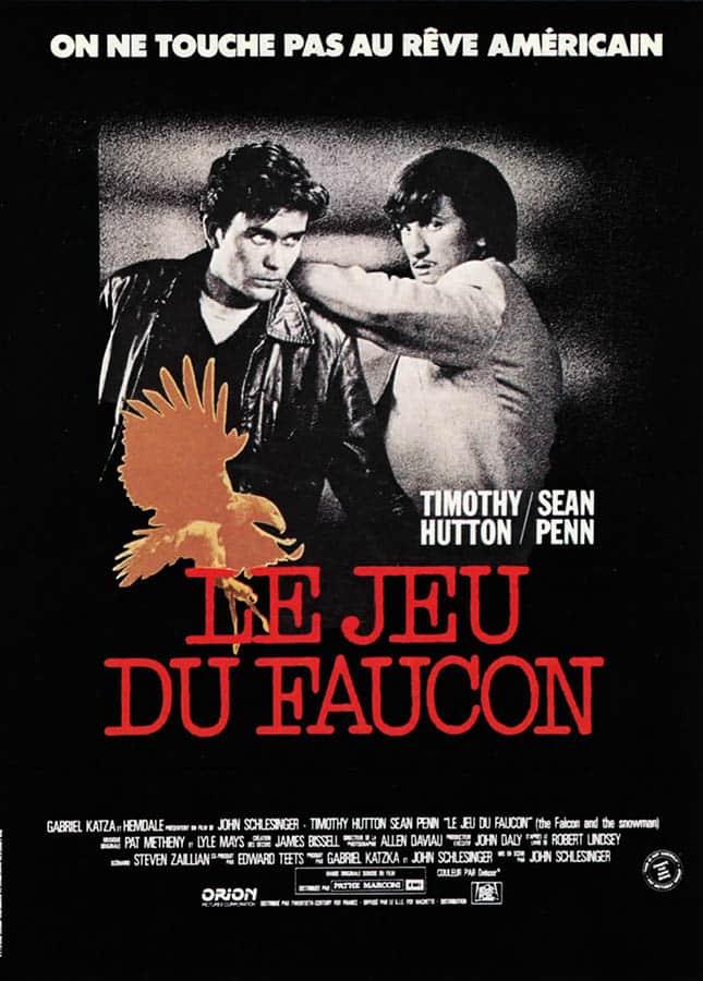 Le jeu du faucon, l'affiche du film