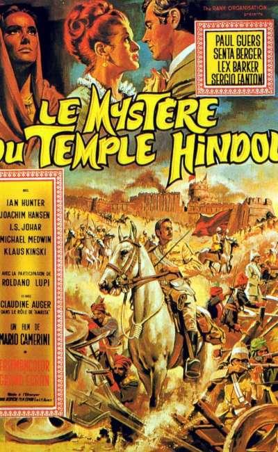 Le mystère du temple hindou, l'affiche