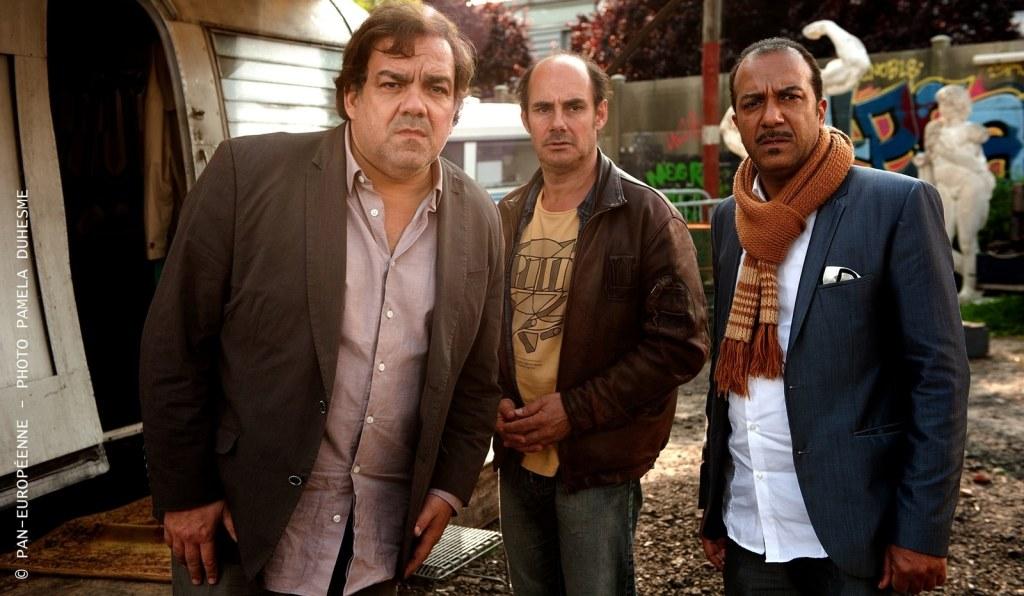 Les 3 frères le retour : Bourdon, Legitimus et Bernard Campan