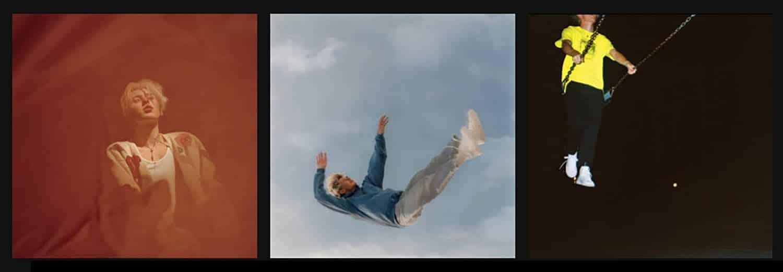 Max Leone : cover des 3 singles
