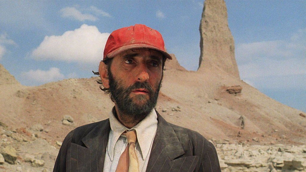 Harry Dean Stanton dans Paris, Texas