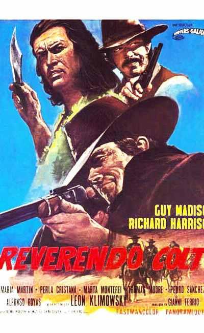 Reverendo Colt (Le colt du révérend), affiche cinéma originale