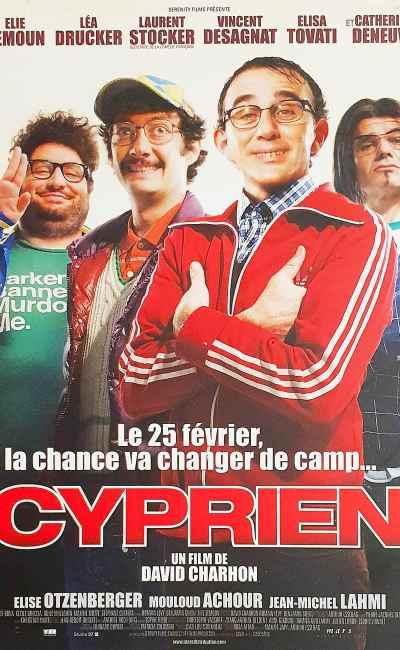 Cyprien, affiche du film de David Charhon, avec Elie Seimoun