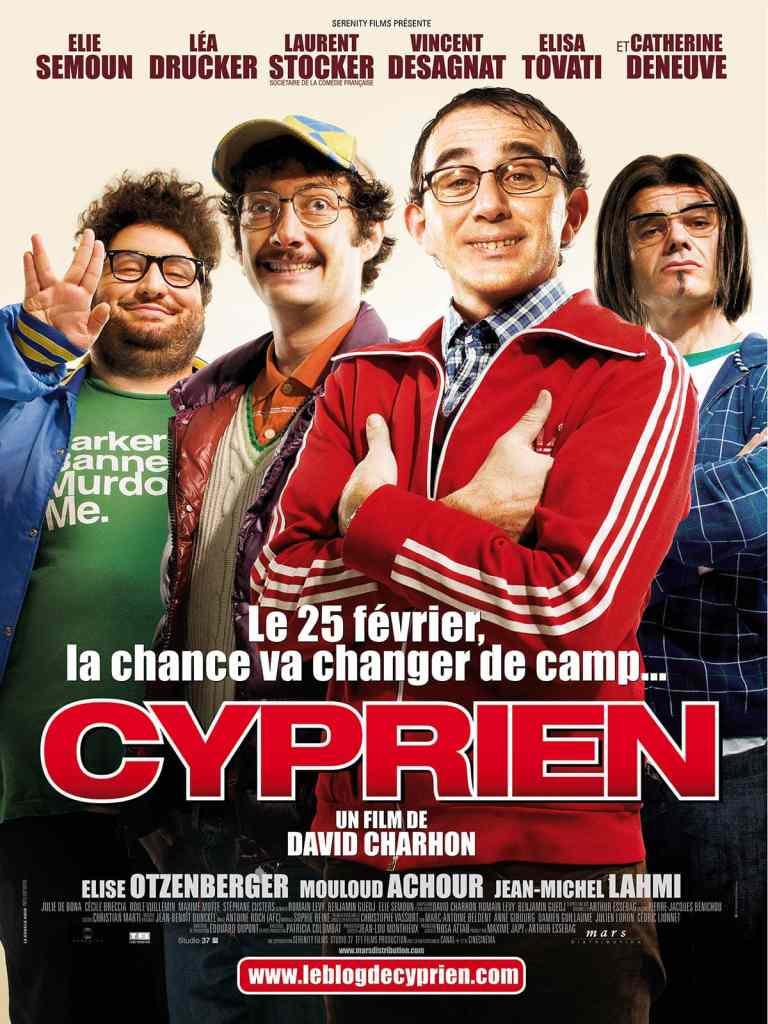 Affiche française de la comédie Cyprien avec Elie Semoun