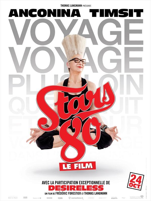 Stars 80 le film, affiche personnage de Desireless