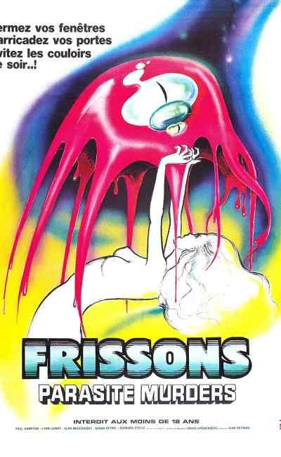 Frissons Parasite Murders : affiche cinéma 1976