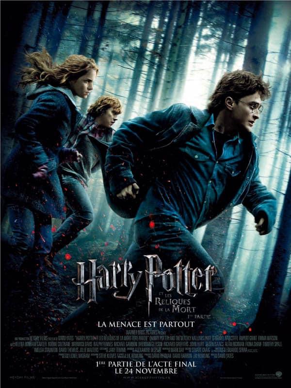 Harry Potter et les reliques de la mort partie 1, l'affiche du film