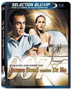 James Bond 007 contre Dr No, la jaquette du blu-ray
