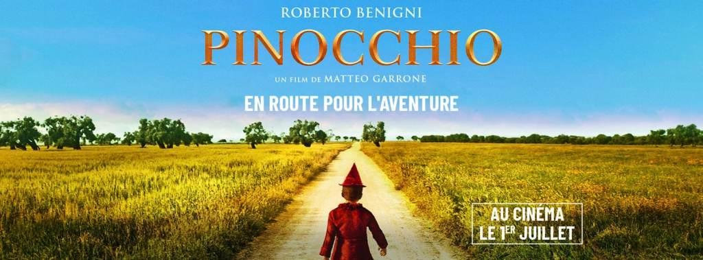 Pinocchio Cover Facebook, affiche pour Juillet 2020