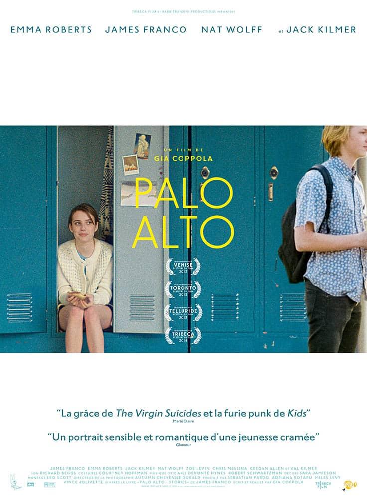 Palo Alto avec Emma Roberts, affiche du film