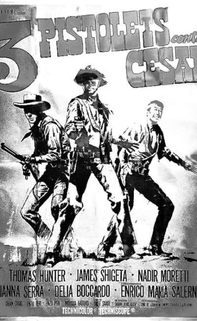 Trois pistolets contre cesar