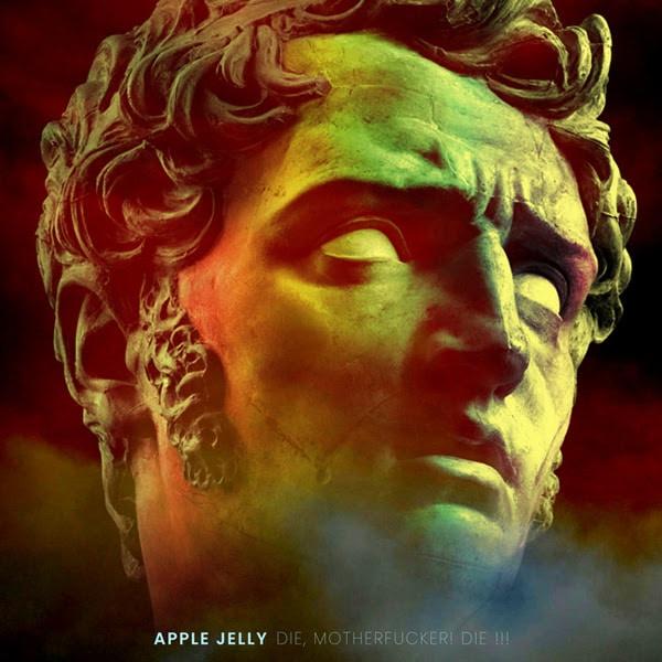 Pochette du troisième album des Apple Jelly, Die mother fucker die