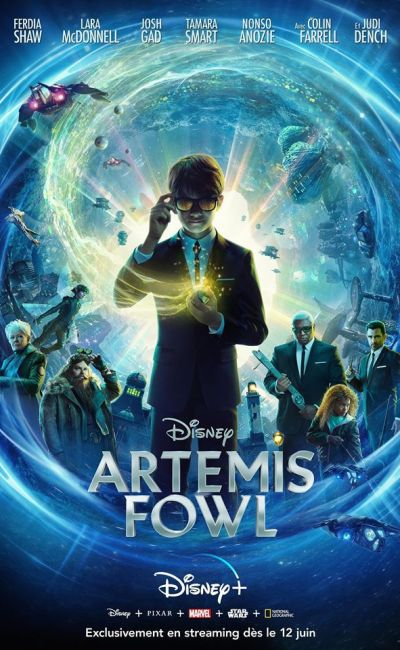 Artemis Fowl, affiche Disney + France