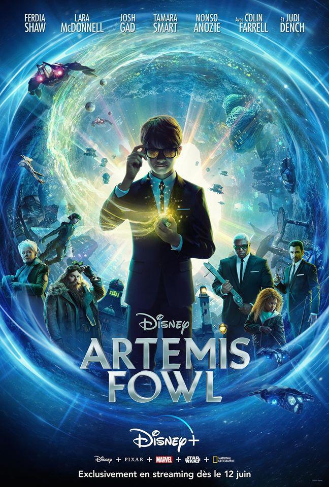 Artemis Fowl, affiche Disney + France