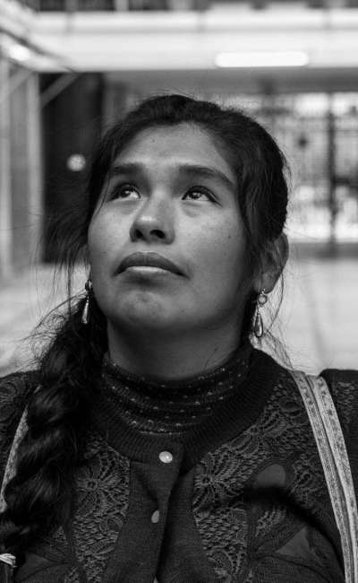 Pamela Mendoza, portrait
