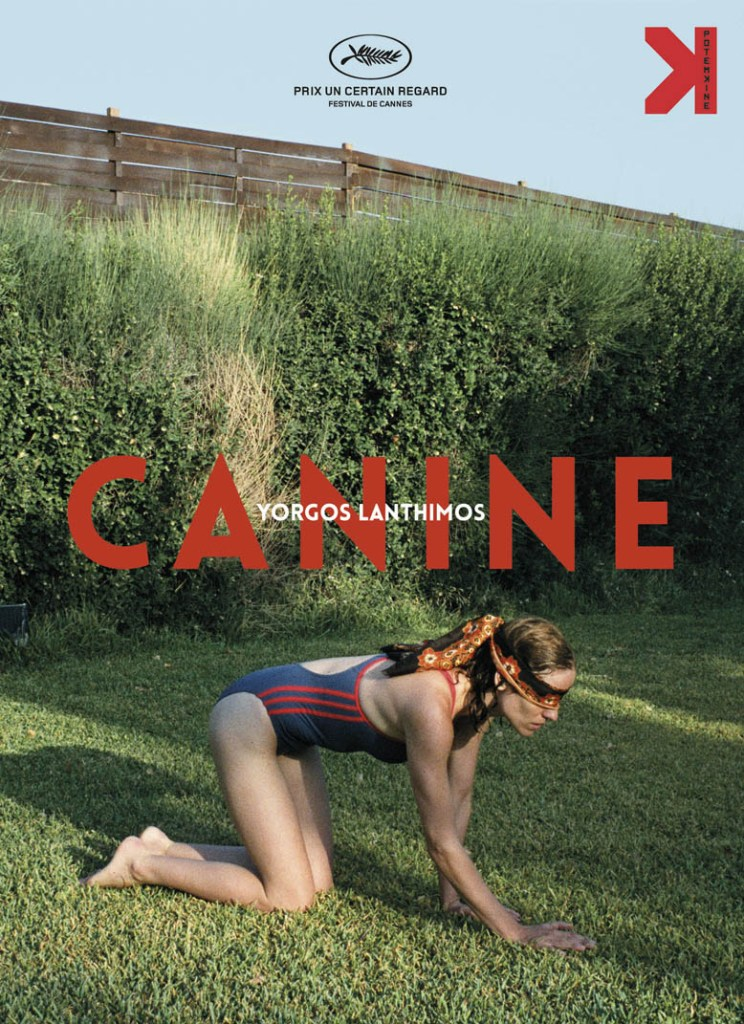 Canine, édition DVD 2017, cover