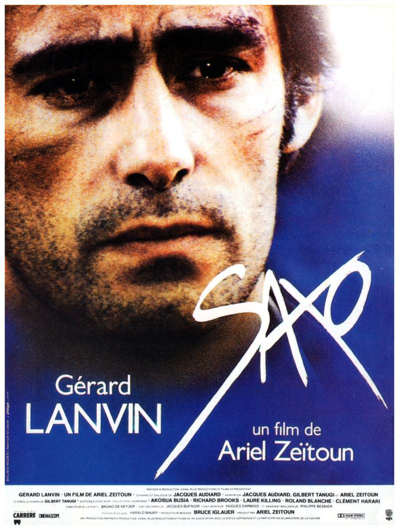 Saxo, l'affiche du film