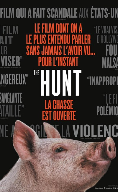 The Hunt de Craig Zobel, affiche 22 juin 2020