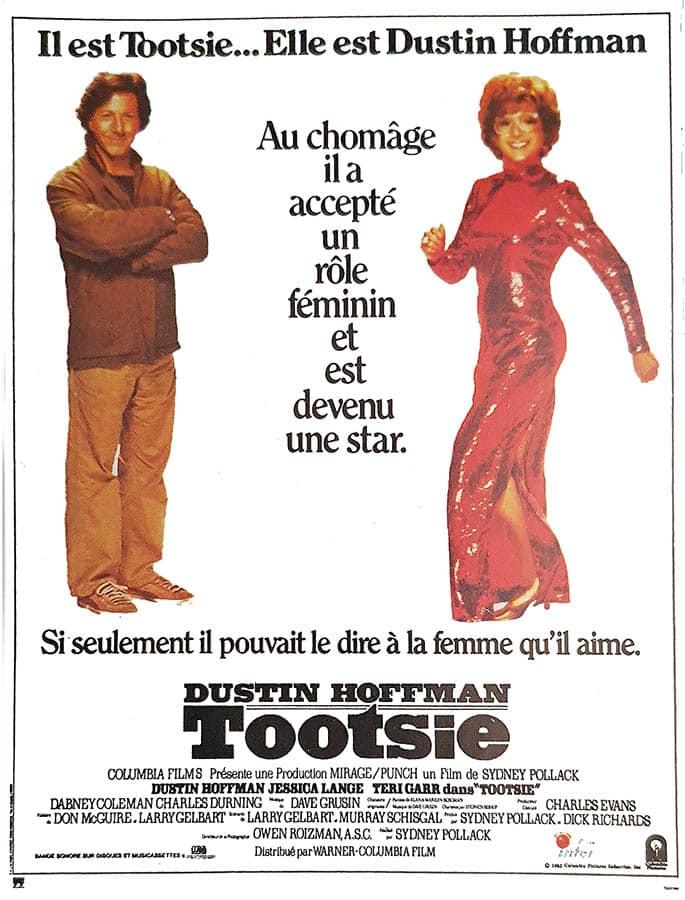 Tootsie, affiche cinéma française