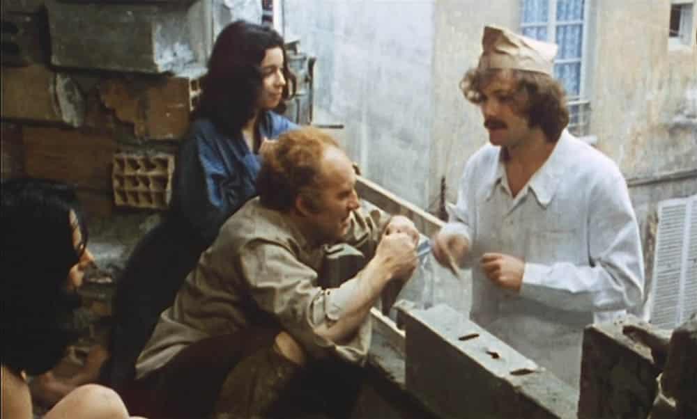 Themroc, Dewaere et Michel Piccoli