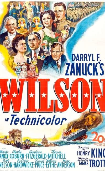 Wilson, l'affiche américaine