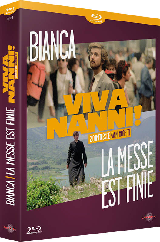 Coffret Nanni Moretti (Viva Nanni !), Carlotta cover