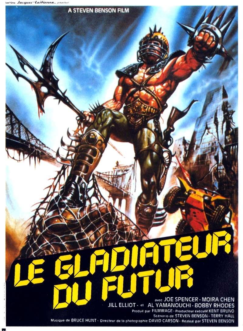 Le gladiateur du futur, l'affiche