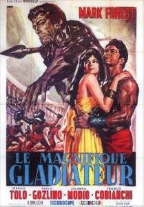 Le gladiateur magnifique, l'affiche