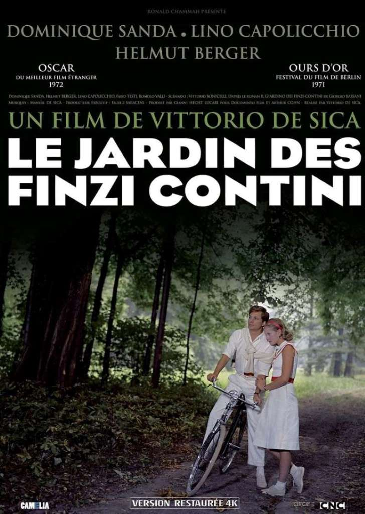 Le jardin des Finzi-Contini, l'affiche de la reprise