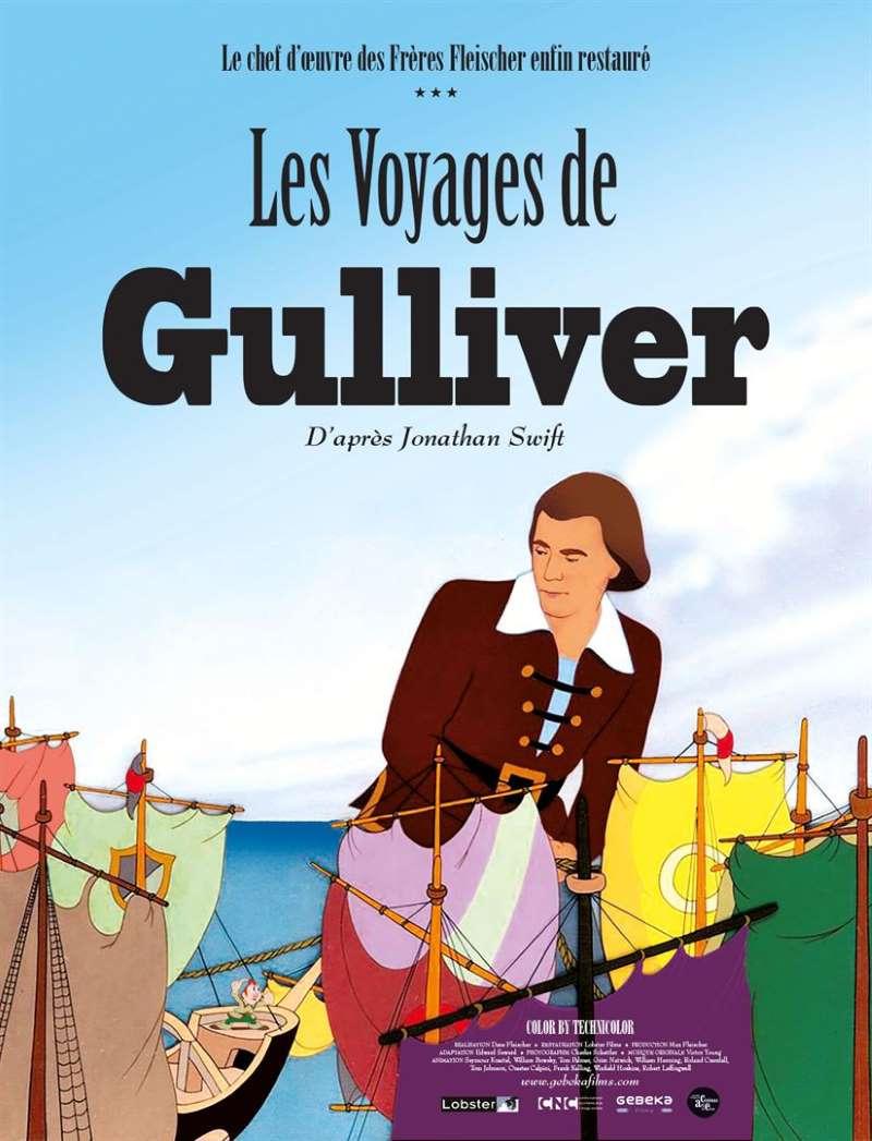Les voyages de Gulliver, l'affiche de la reprise
