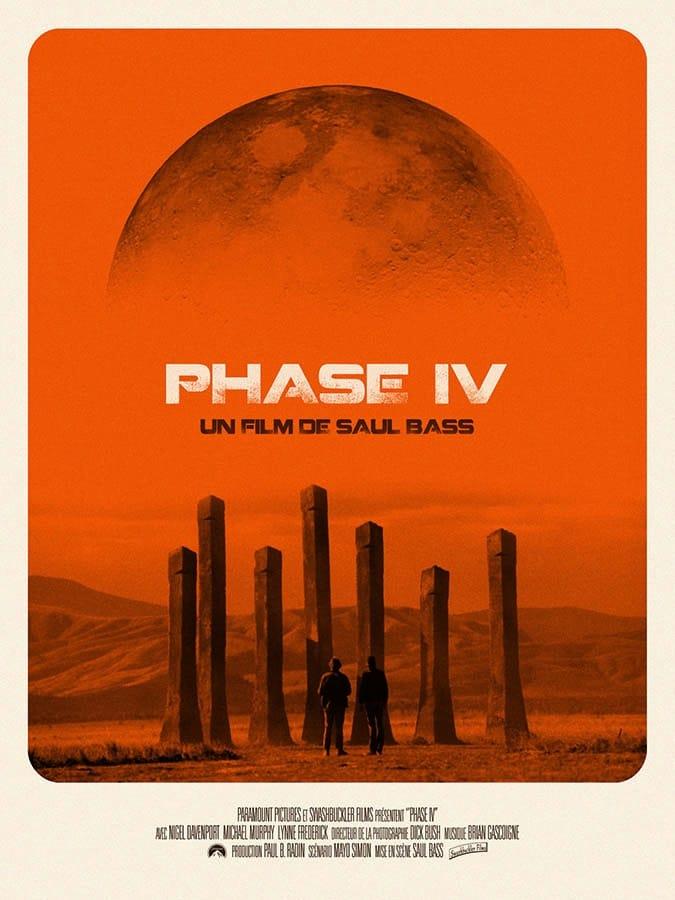 Affiche reprise 2017 Phase IV de Sal Bass