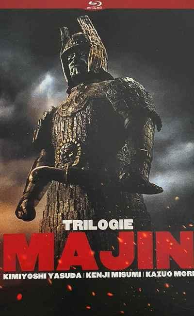 La Trilogie Majin, cover, jaquette 2D
