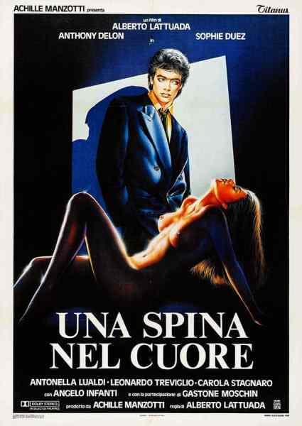Une épine dans le coeur, sophie duez, affiche italienne