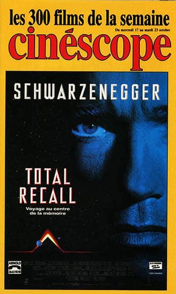 Les archives CinéDweller : CinéScope affiche Total Recall