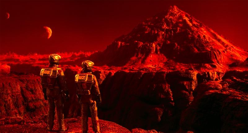 Mars, la planète route de Total Recall (1990)