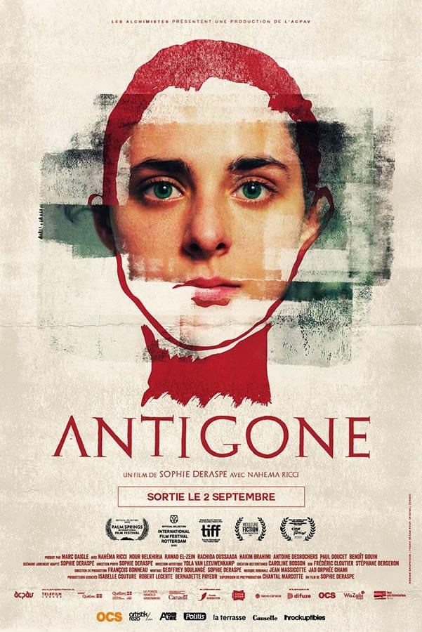 Antigone, affiche du film de Sophie Deraspe (2020)