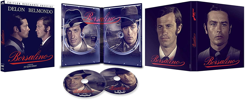 Borsalino DVD & blu-ray digipack