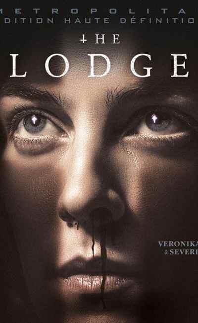 The Lodge Cover, jaquette vidéo DVD bluray