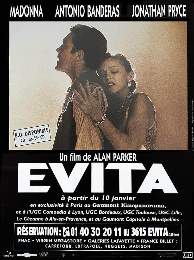 Evita d'Alan Parker, Flyer promotionnel
