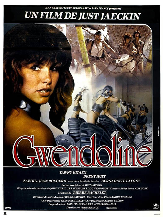 Gwendoline, affiche cinéma du film de Just Jaeckin