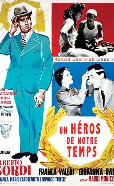Affiche française de Le veuf de Mario Monicelli (reprise 2015)