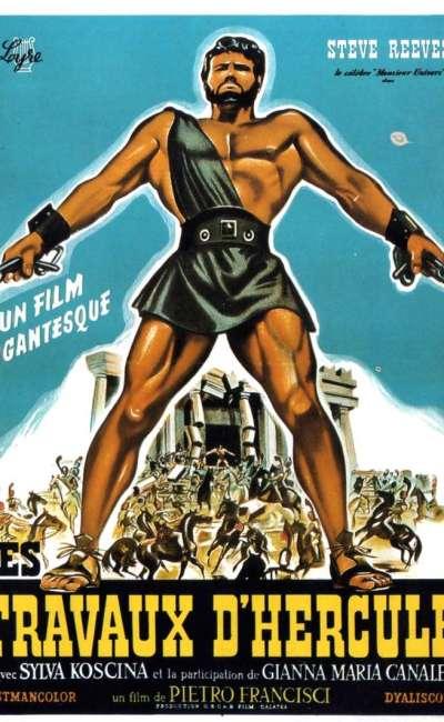 Les travaux d'Hercule, l'affiche