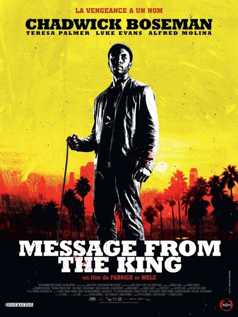 Message from the King avec Chadwick Boseman