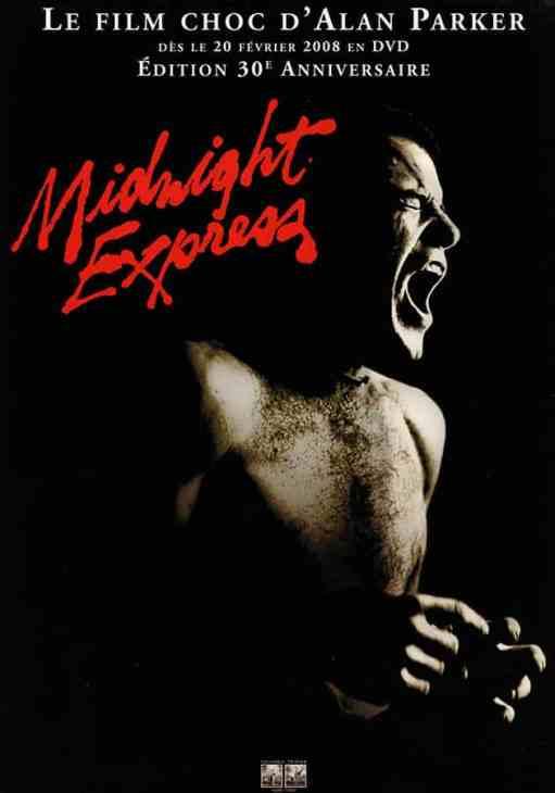 Midnight Express, DVD 30e anniversaie