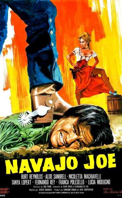 Navajo Joe, l'affiche