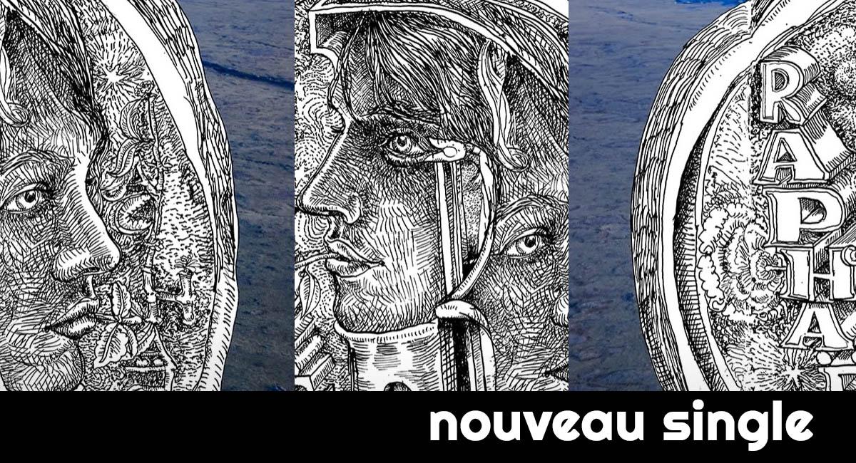 Raphael revient à la mer età son bleu