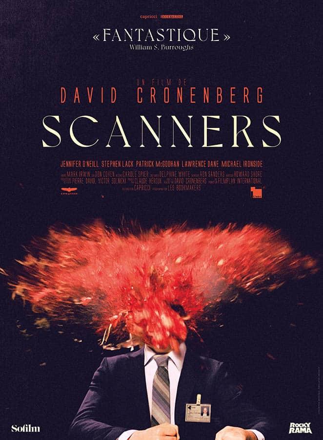 Affiche reprise 2020 de Scanners