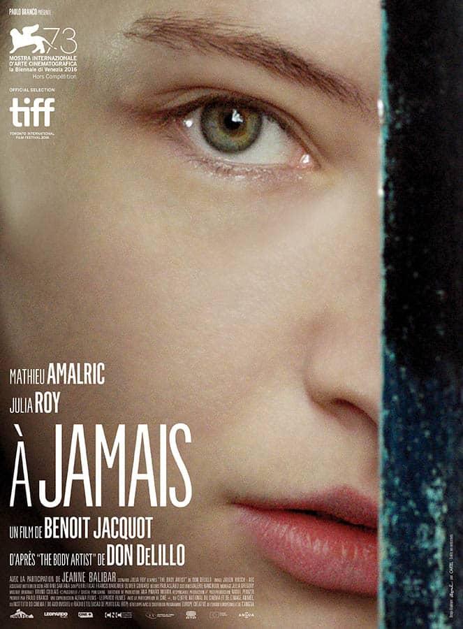 A jamais de Benoît Jacquot, affiche du film avec Julia Roy