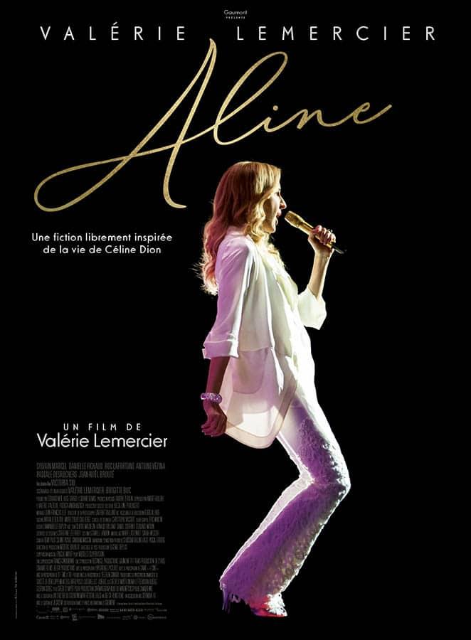 Aline : affiche du film de Valérie Lemercier