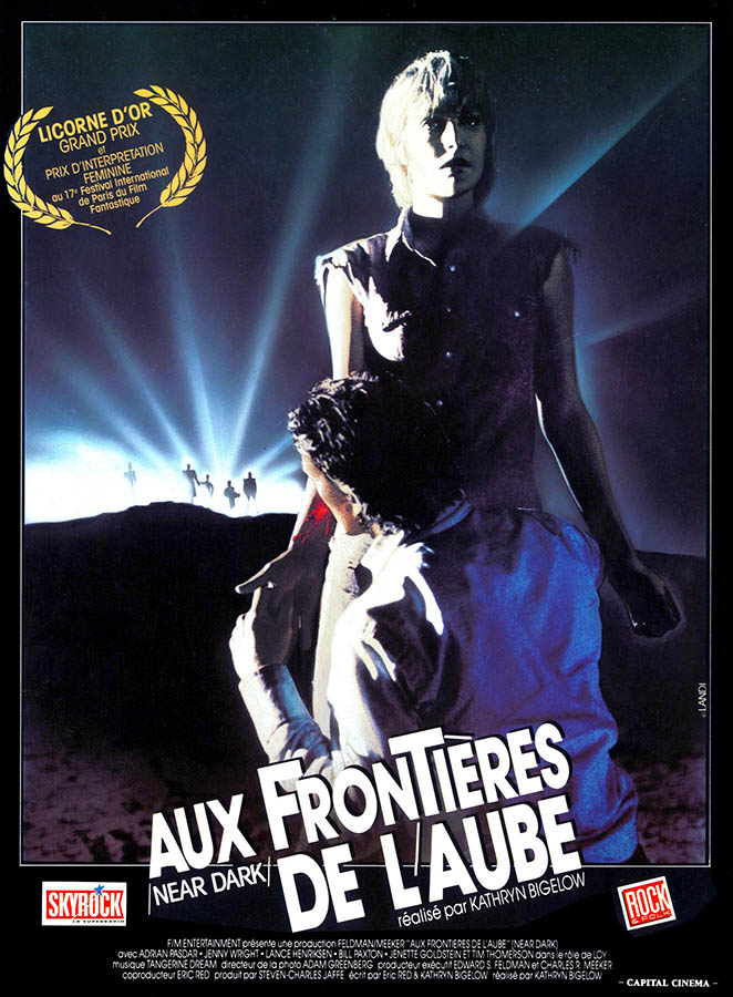Near Dark, Aux frontières de l'aube affiche du film de Kathryn Bigelow